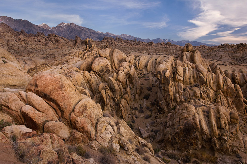 Canyon throat. Alabama Hills near Lone Pine, Eastern Sierra, California, USA. - Alabama-Hills-Eastern-Sierra - Mike Reyfman Photography