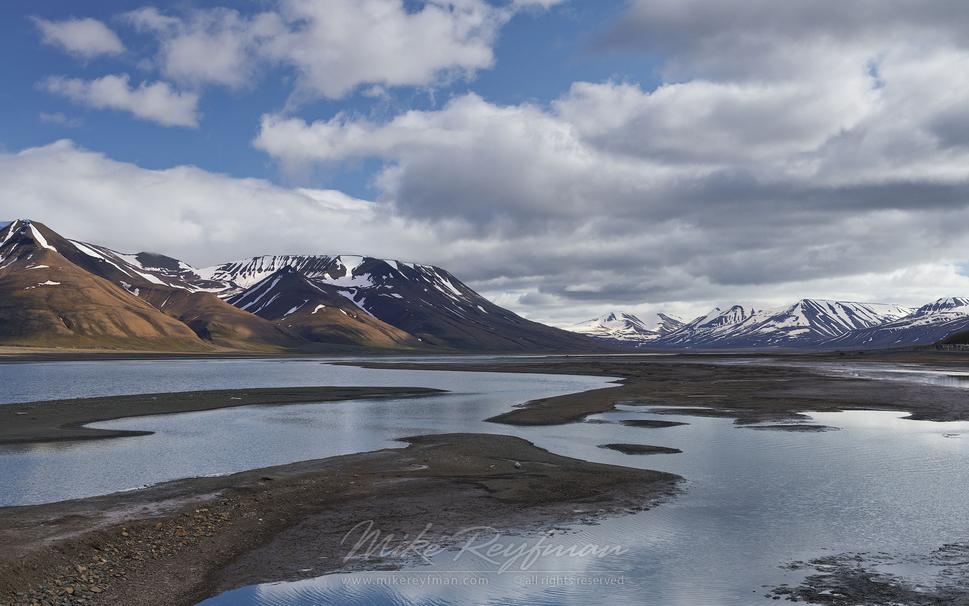 Adventfjorden advent bay near longyearbyen for Nearby landscapers