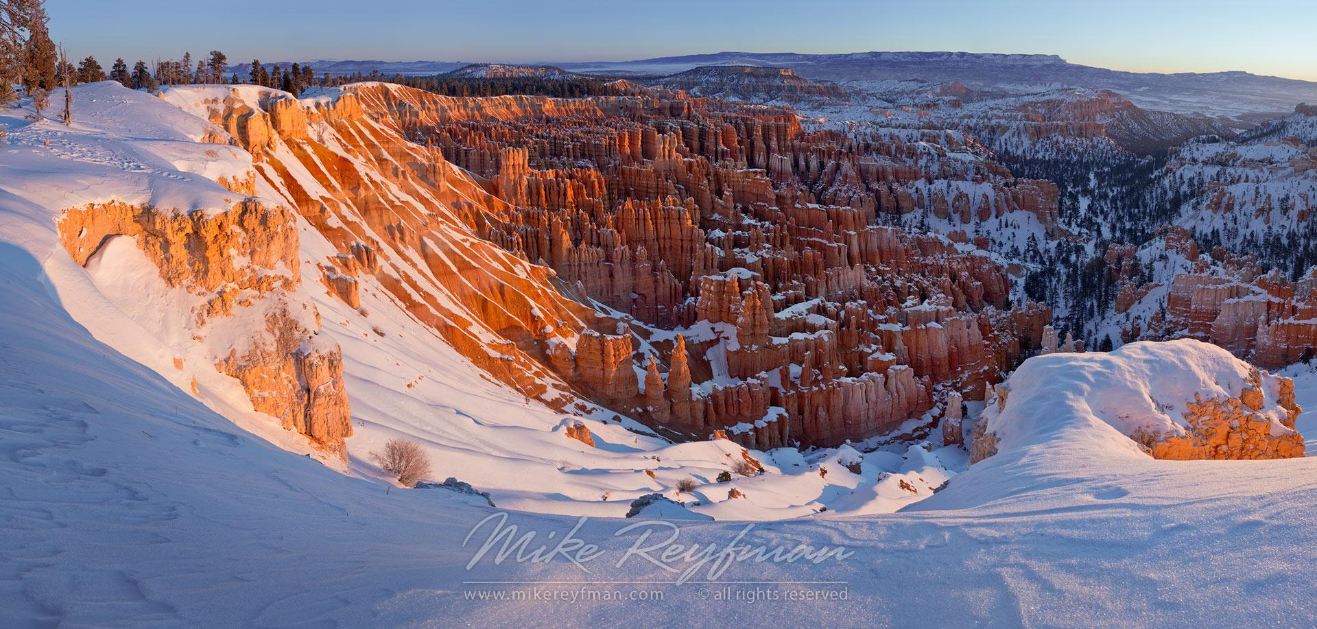 utah national parks winter