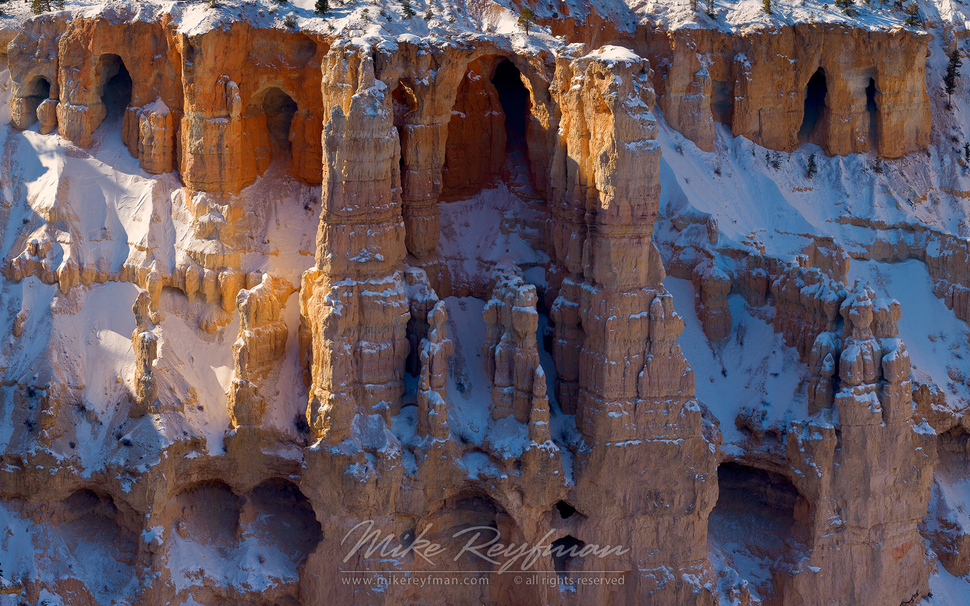Silent City. Bryce Point. Bryce Canyon National Park, Utah, USA. - Bryce-Canyon-National-Park-Utah-USA - Mike Reyfman Photography