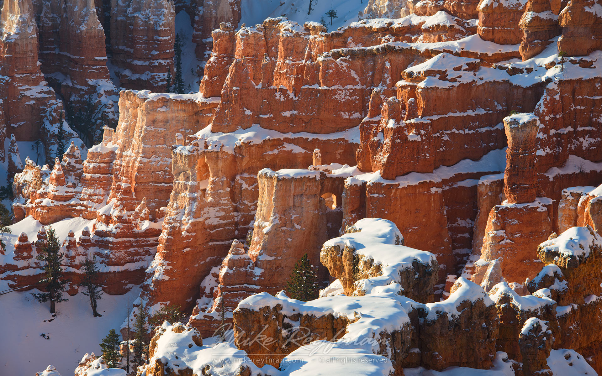 Winter Fortress Thor S Hammer Bryce Canyon National Park