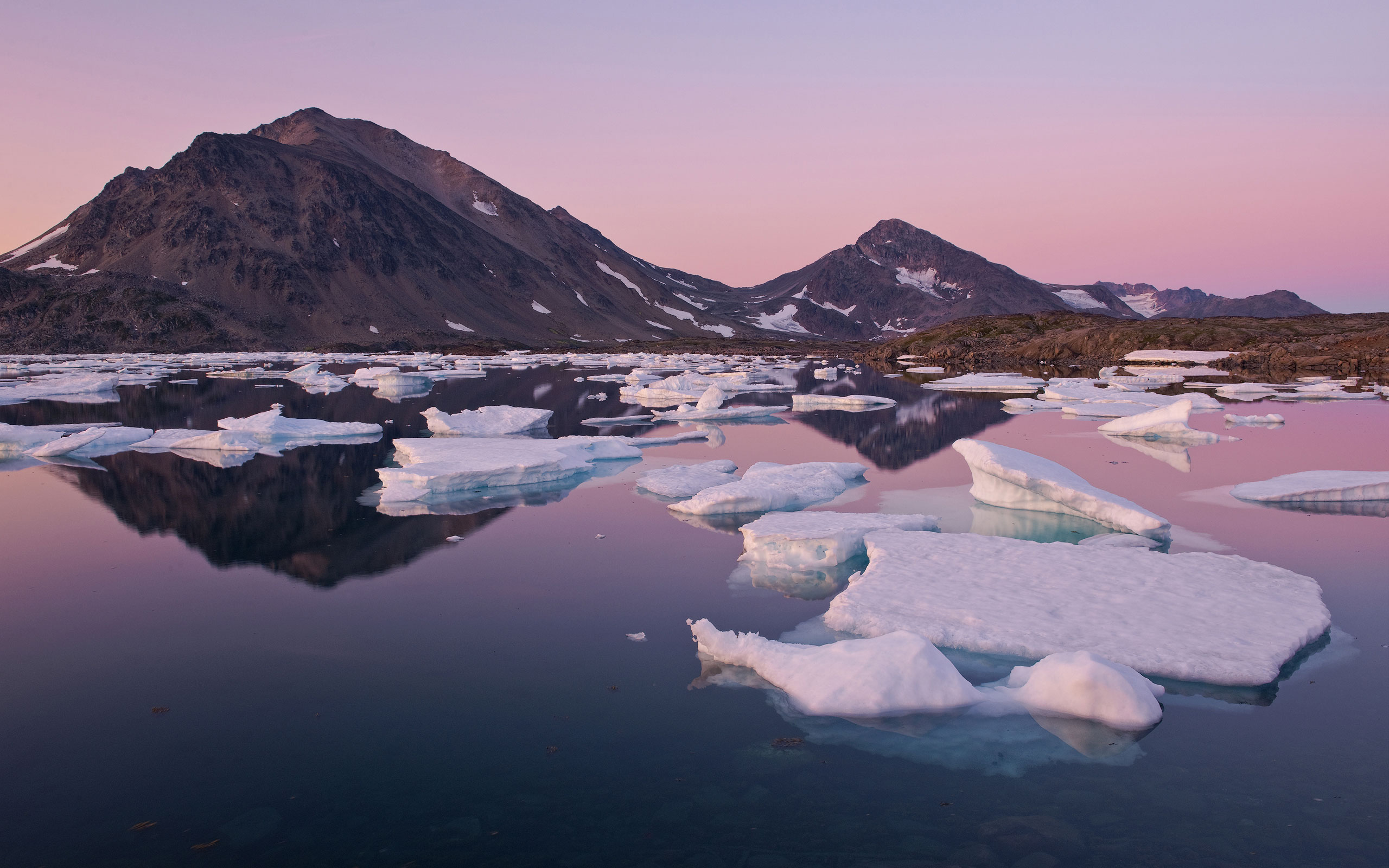 Evening light over Torsuut Tunoq sound. Southeastern Greenland. - Greenland-Iceberg-Factory-1 - Mike Reyfman Photography