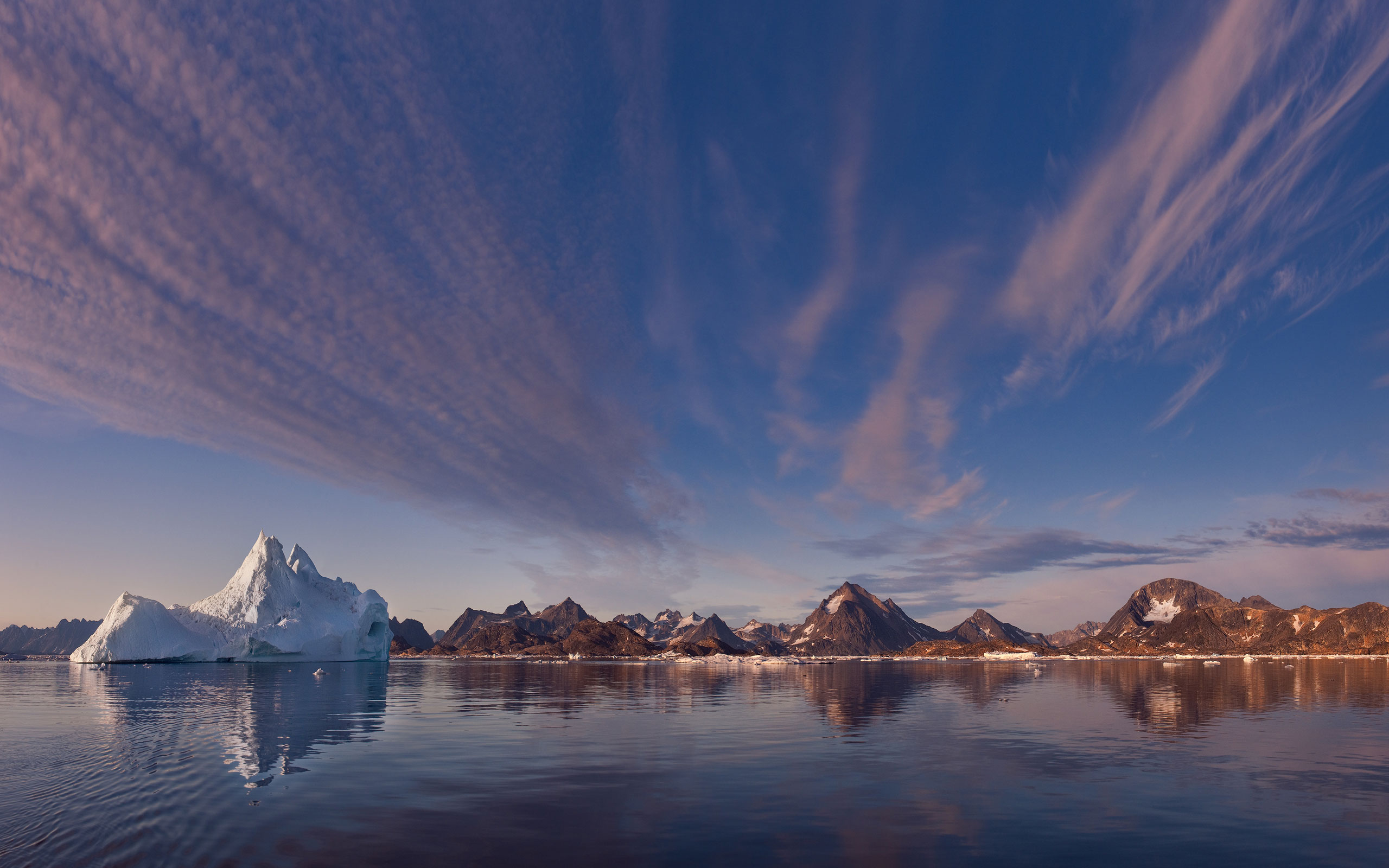 Iceberg by the shores of Kulusuk island. Southeastern Greenland. - Greenland-Iceberg-Factory-1 - Mike Reyfman Photography