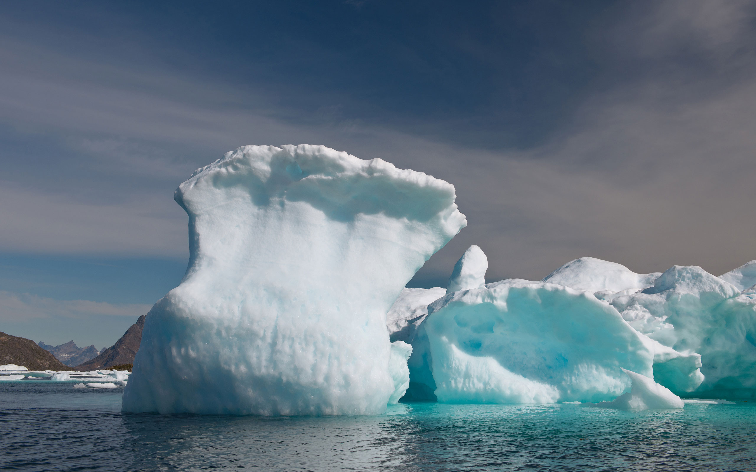 Frozen wave. Iceberg offshore Southeastern Greenland. - Greenland-Iceberg-Factory-1 - Mike Reyfman Photography