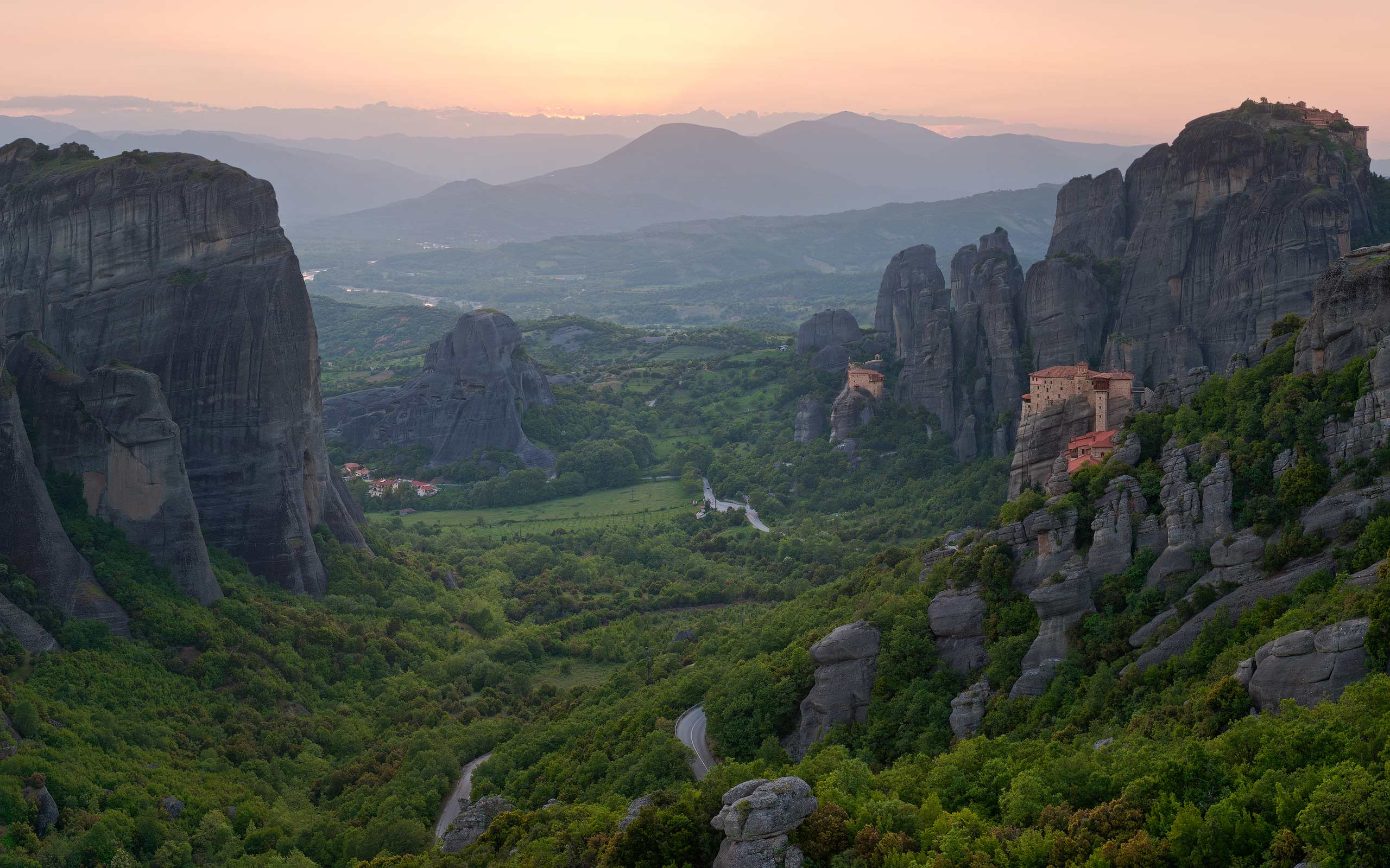 Meteora Monastery Thessaly Greece  Like Success