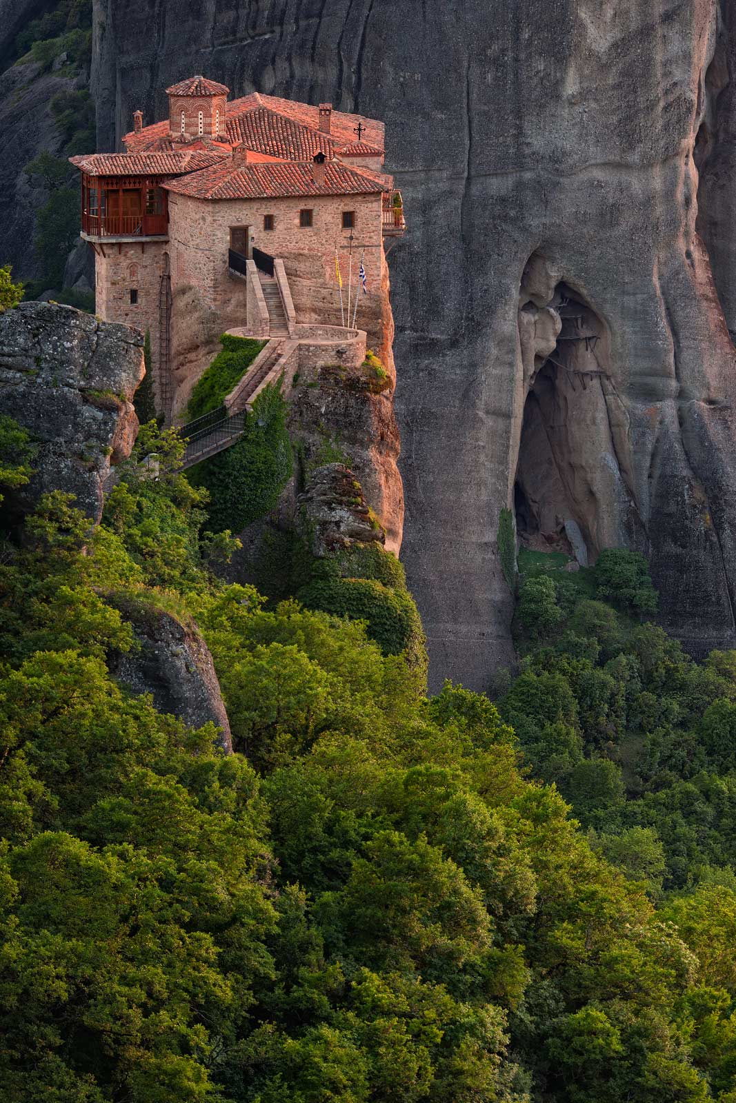Roussanou Nunnery, Meteora, Thessaly, Greece - Meteora-Monasteries-Greece - Mike Reyfman Photography