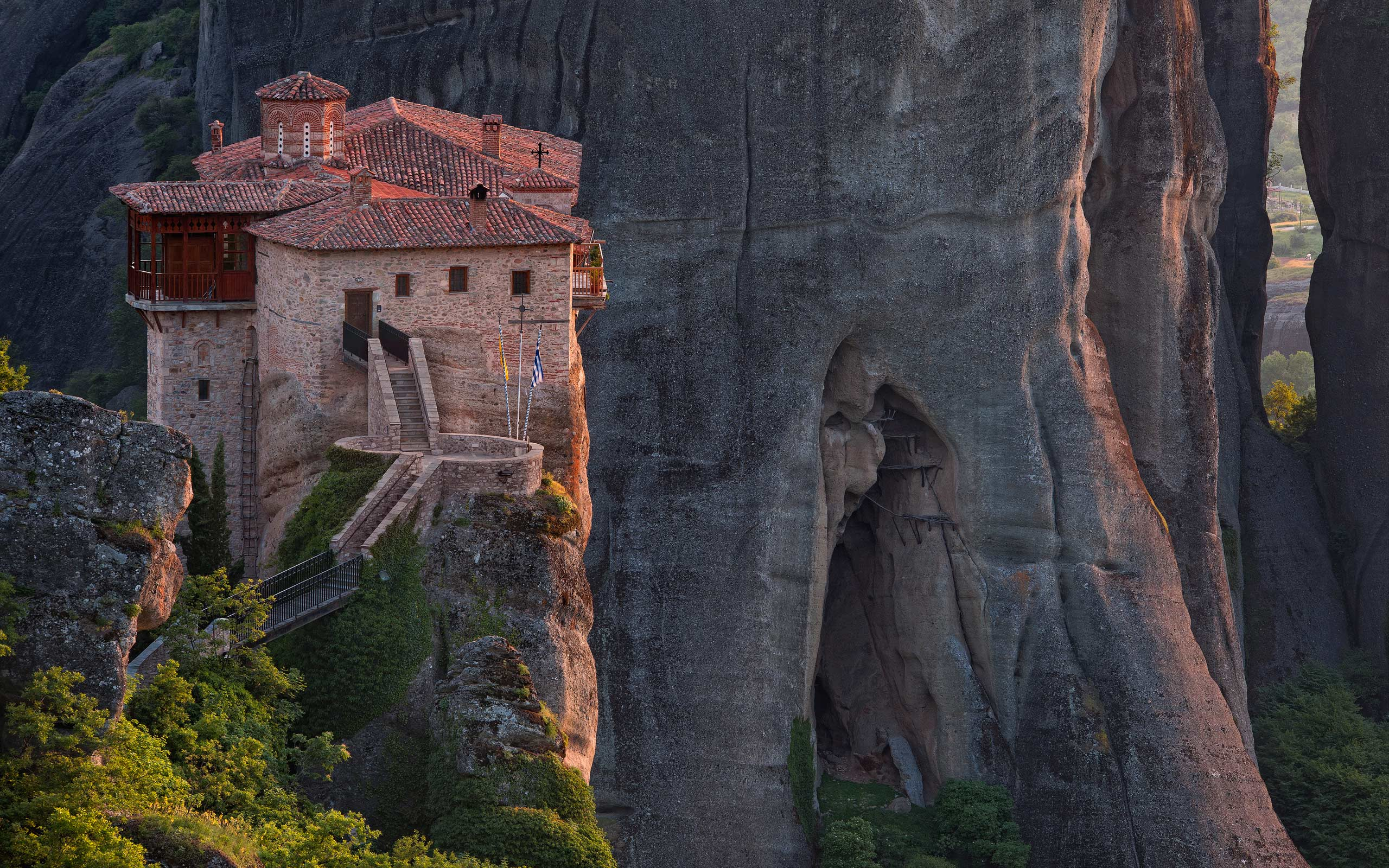 Roussanou Monastery, Meteora, Thessaly, Greece - Meteora-Monasteries-Greece - Mike Reyfman Photography