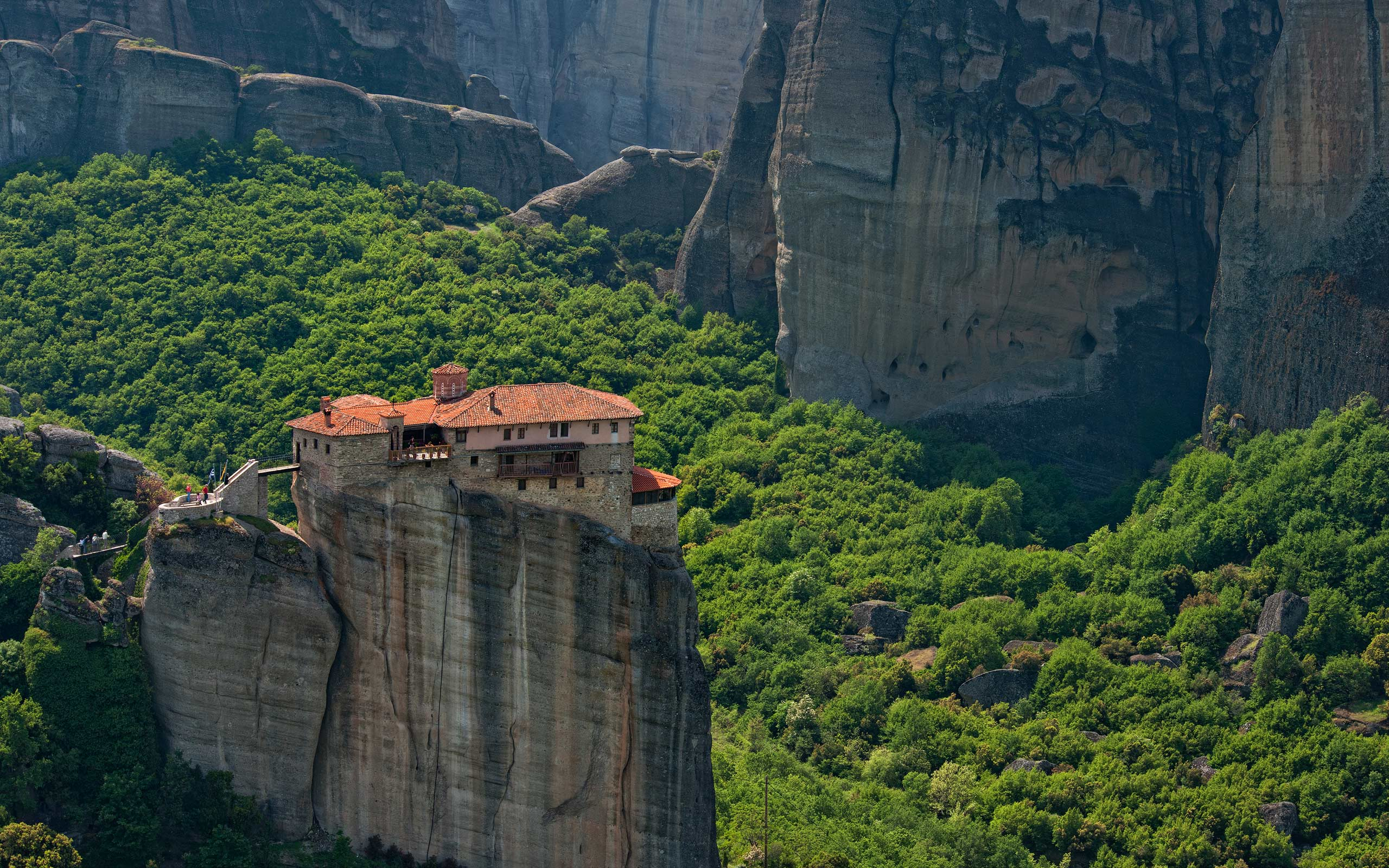 Roussanou Monastery. Meteora, Thessaly, Greece - Meteora-Monasteries-Greece - Mike Reyfman Photography