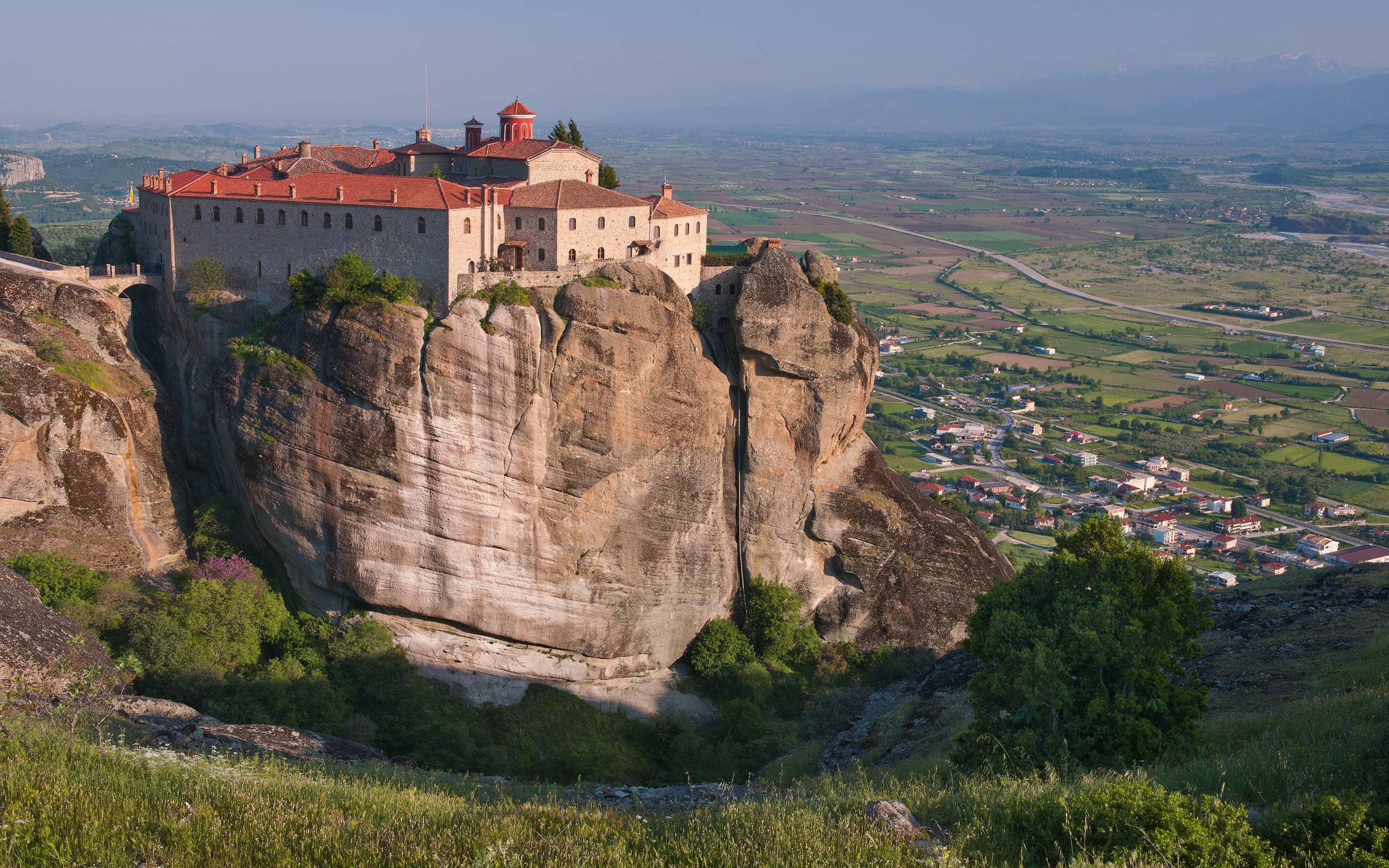 Agios Stefanos Monastery. Meteora, Thessaly, Greece - Meteora-Monasteries-Greece - Mike Reyfman Photography