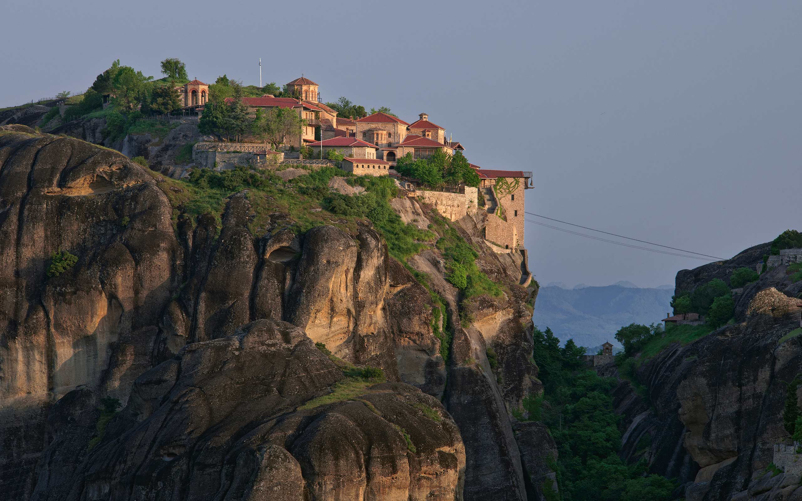 The Holy Monastery of Great Meteoron, Meteora, Thessaly, Greece - Meteora-Monasteries-Greece - Mike Reyfman Photography