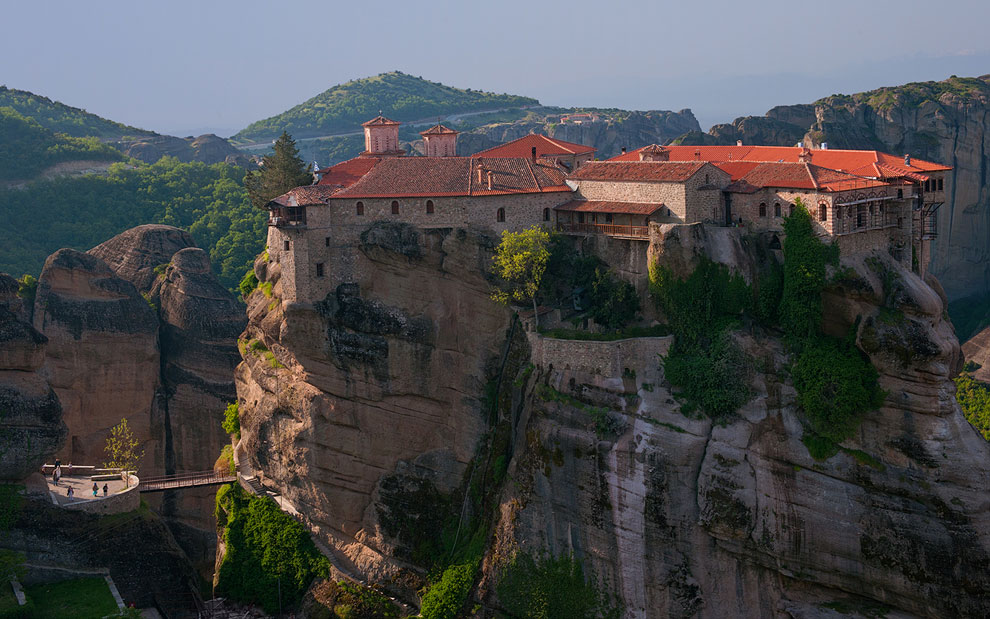 Varlaam Monastery. Meteora, Thessaly, Greece  Mike ...