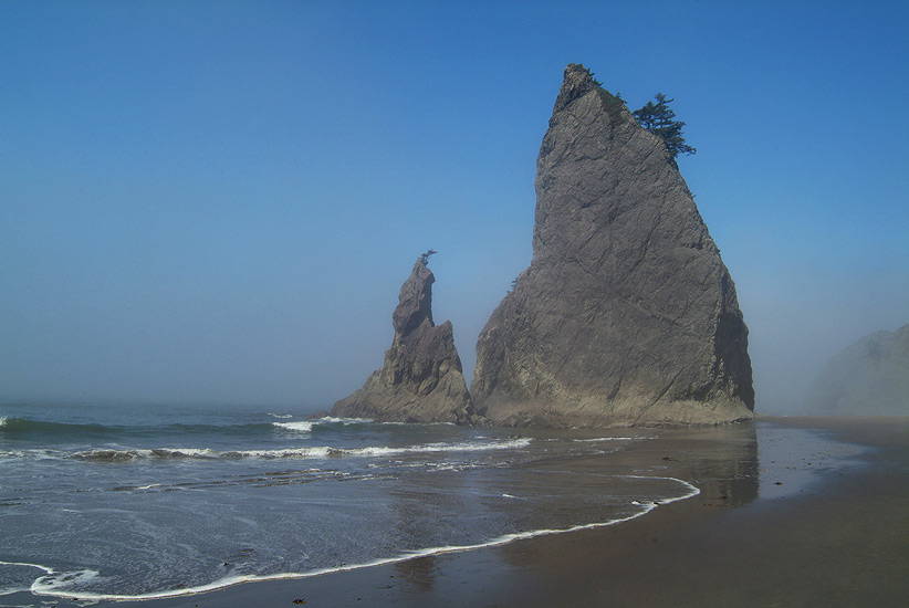 Rialto Beach. Olympic National Park, WA, USA