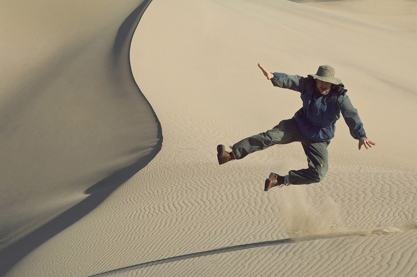Sandbox for Men. Gleb Tarassnko. Mesquite Flats Sand Dunes, Death Valley National Park, California, USA.