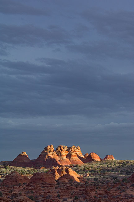 Coyote Buttes on sunset. - The-Wave-NorthCoyoteButtes-PariaCanyo-VermilionCliffs-Arisona - Mike Reyfman Photography