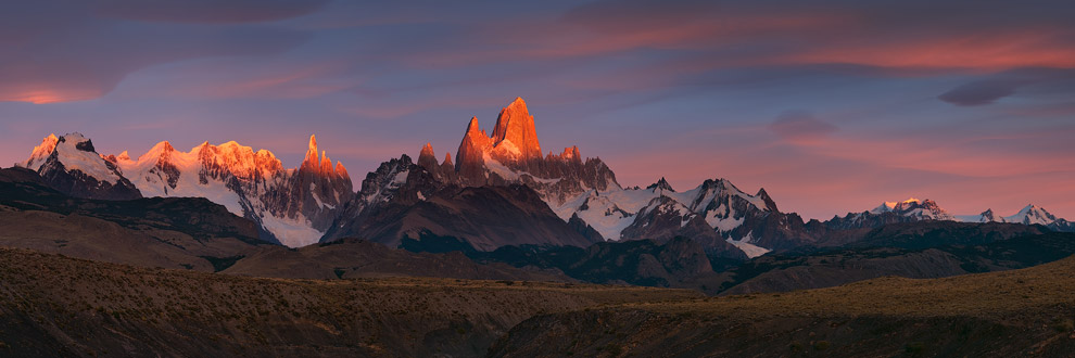 Inferno. Fitz Roy and Cerro Torre Massifs, Patagonia, Argentina. - Gallery-1 - Mike Reyfman Photography