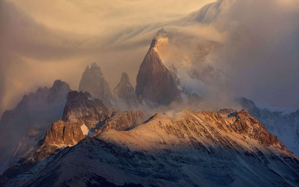 The perfect storm. Fitz Roy Massif, Patagonia, Argentina. - Gallery-1 - Mike Reyfman Photography