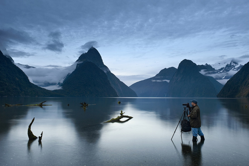 Low tide. Milford Sound, Fiordland National Park, New Zealand. - Gallery-1 - Mike Reyfman Photography