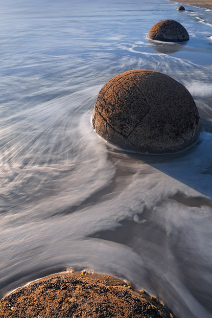 About geometry. Moeraki Boulders, Central Otago, New Zealand, South Island. - Gallery-1 - Mike Reyfman Photography