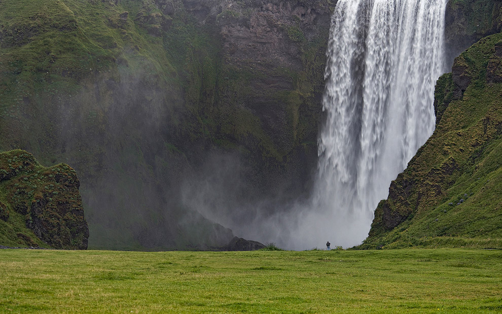 One on One. Skogafoss, Southern Iceland.