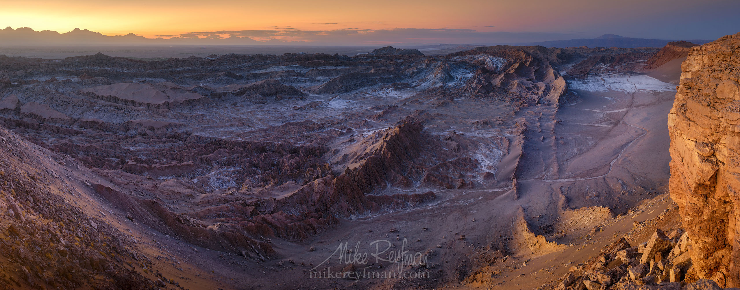 AA1-D1D9195_Pano_1x2.55 - Atacama and Altiplano. The Driest Desert and The High Plain - Mike Reyfman Photography