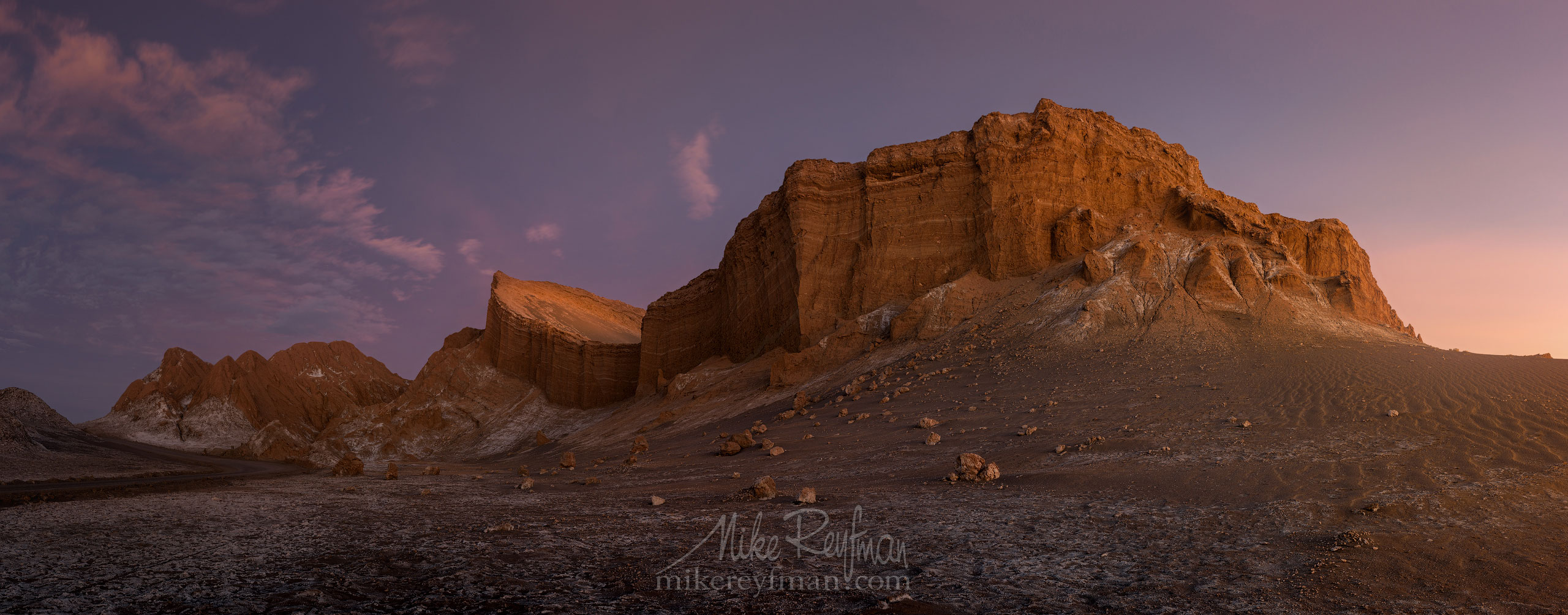 AA1-D1D8325_Pano_Warm_1x2.55 - Atacama and Altiplano. The Driest Desert and The High Plain - Mike Reyfman Photography