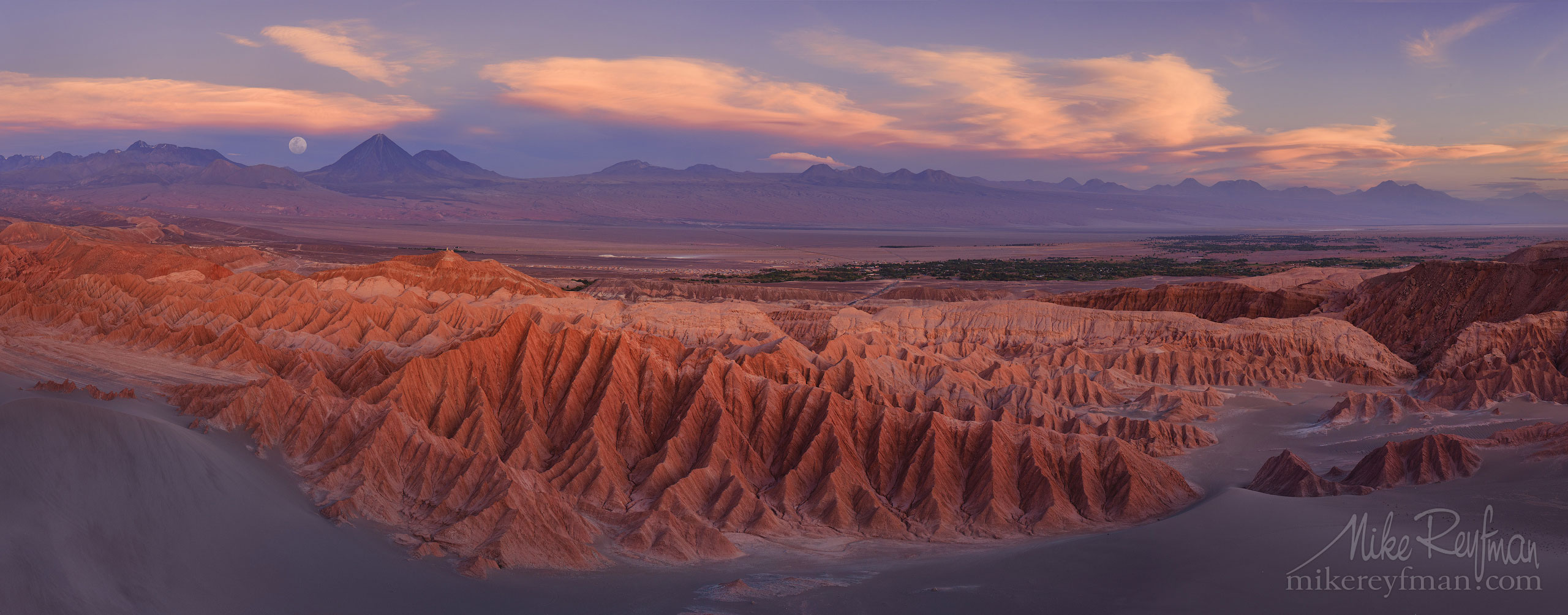 AA1-D1D8605_Pano_1x2.55 - Atacama and Altiplano. The Driest Desert and The High Plain - Mike Reyfman Photography