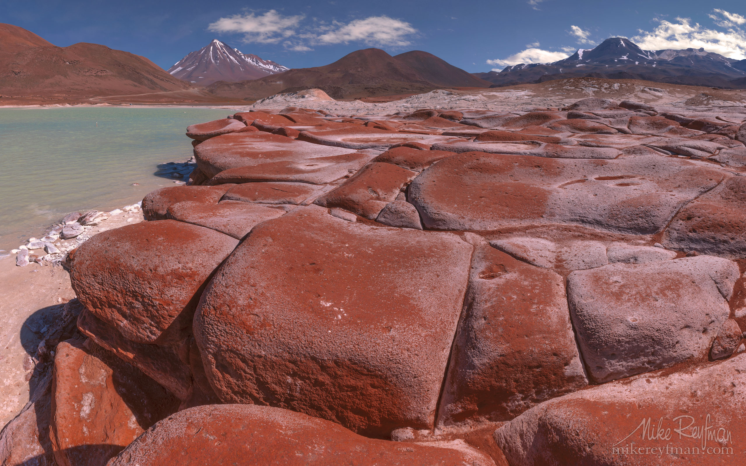 Piedras Rojas and Salar de Aguas Calientes. San Pedro de Atacama, Atacama Desert, Antofagasta Region, Chile AA1-Q3X0752 - Atacama and Altiplano. The Driest Desert and The High Plain - Mike Reyfman Photography