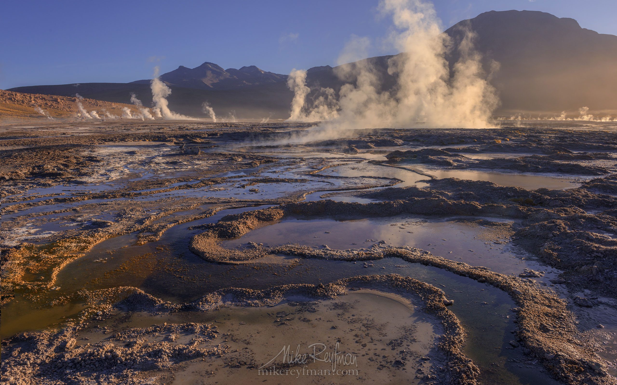 Geyser del Tatio. Atacama's Geothermal Field, Antofagasta Region, Chile AA1-D1D8785t - Atacama and Altiplano. The Driest Desert and The High Plain - Mike Reyfman Photography