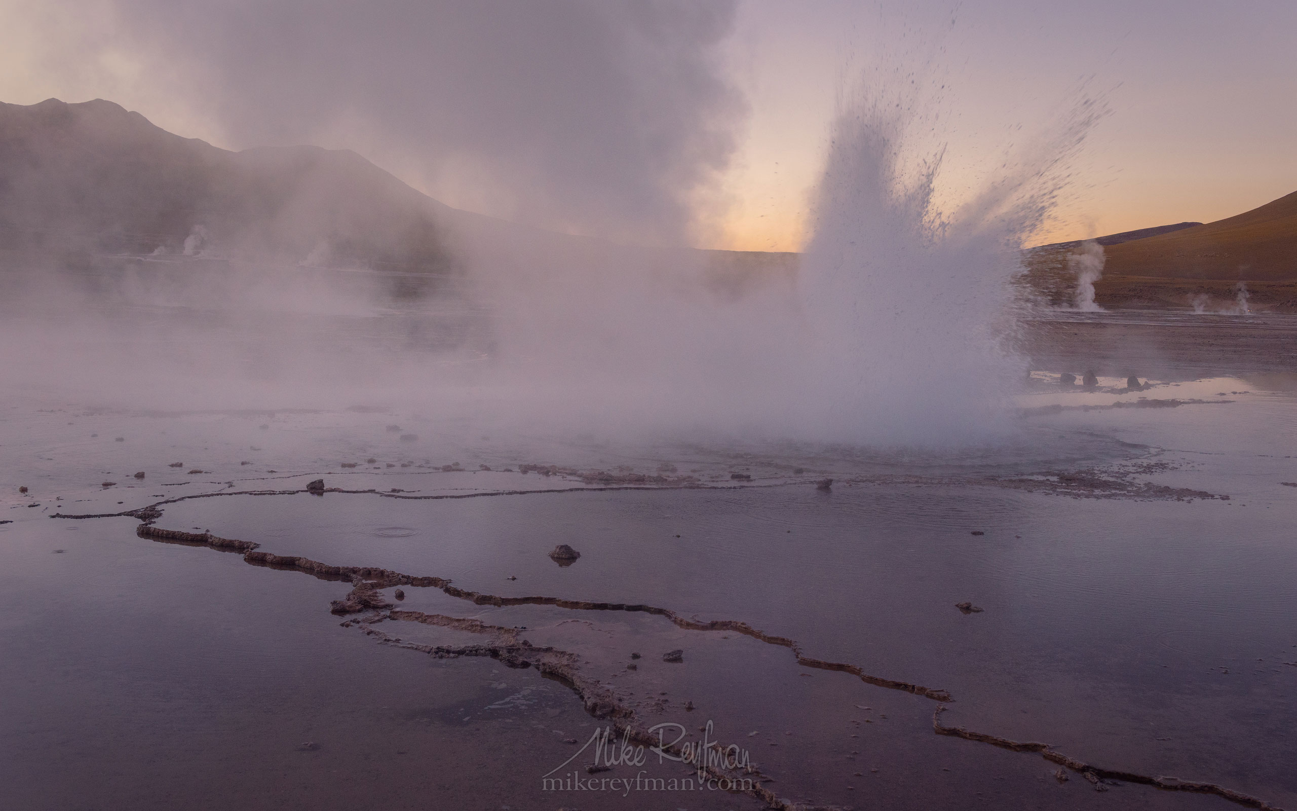 Geyser del Tatio. Atacama's Geothermal Field, Antofagasta Region, Chile AA1-D1D8722 - Atacama and Altiplano. The Driest Desert and The High Plain - Mike Reyfman Photography