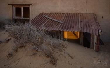 KN1-MR10N1343 Sands of Time. Kolmanskop Ghost town, Namib Desert, Southern Namibia.