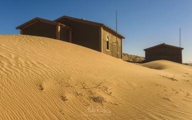 KN1-MR10N1377 Sands of Time. Kolmanskop Ghost town, Namib Desert, Southern Namibia.