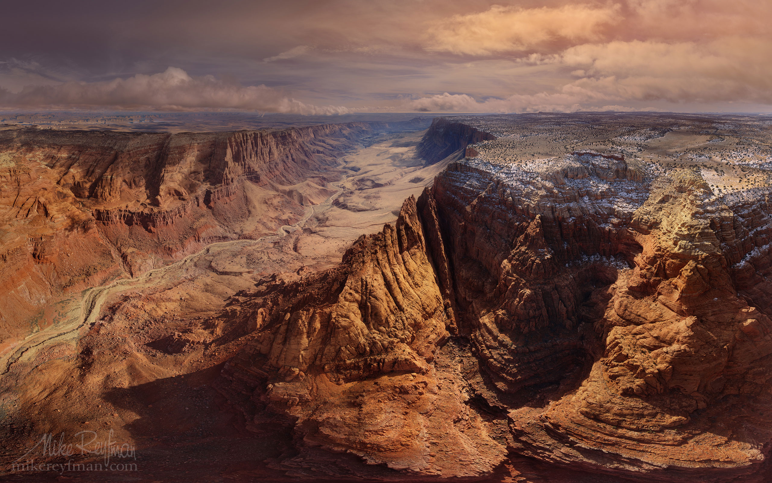 Paria Canyon. Paria Canyon-Vermilion Cliffs Wilderness Area. Utah/Arizona, USA. Aerial 048-LP3_AIR0566-69.jpg - Lake Powell, Glen Canyon NAR. Colorado and Sun Juan Rivers. Utah/Arizona, USA  - Mike Reyfman Photography