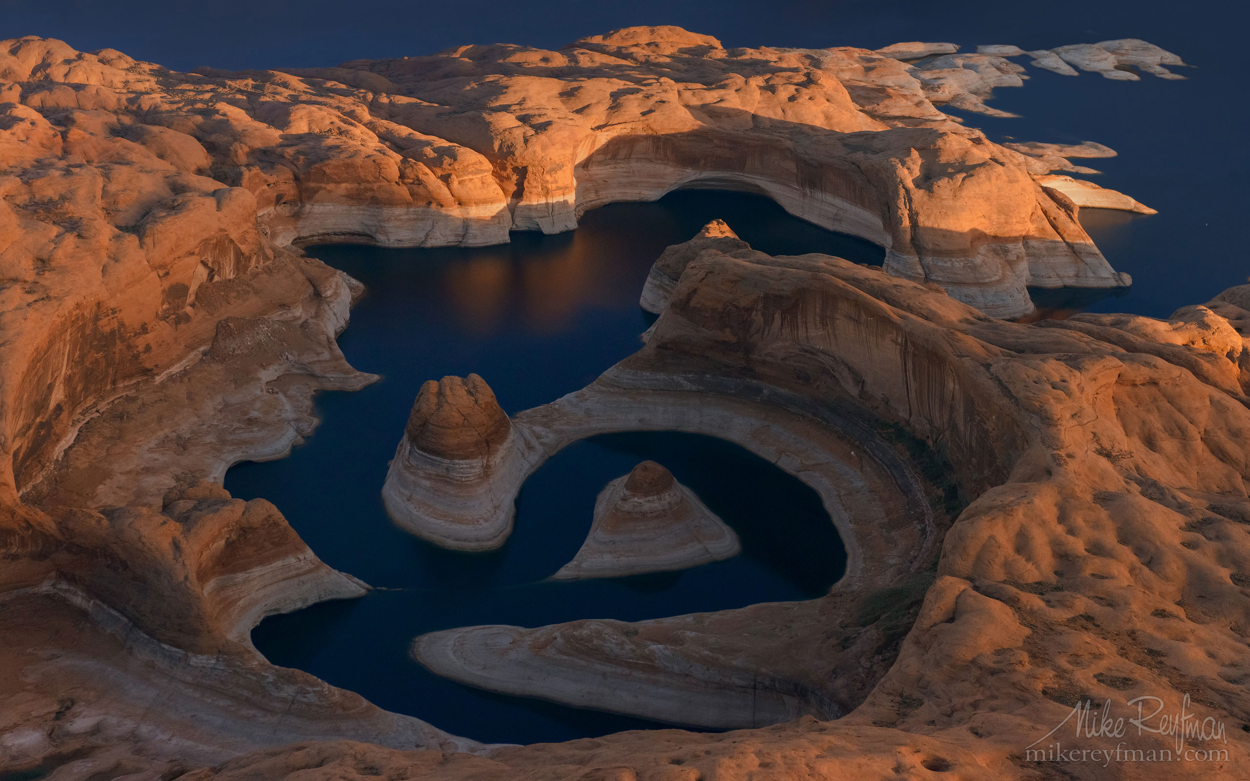Reflection Canyon. Colorado River, Lake Powell, Glen Canyon NRA. Uta/Arizona, USA. Aerial 103-LP3_D8C9553.jpg - Lake Powell, Glen Canyon NAR. Colorado and Sun Juan Rivers. Utah/Arizona, USA  - Mike Reyfman Photography