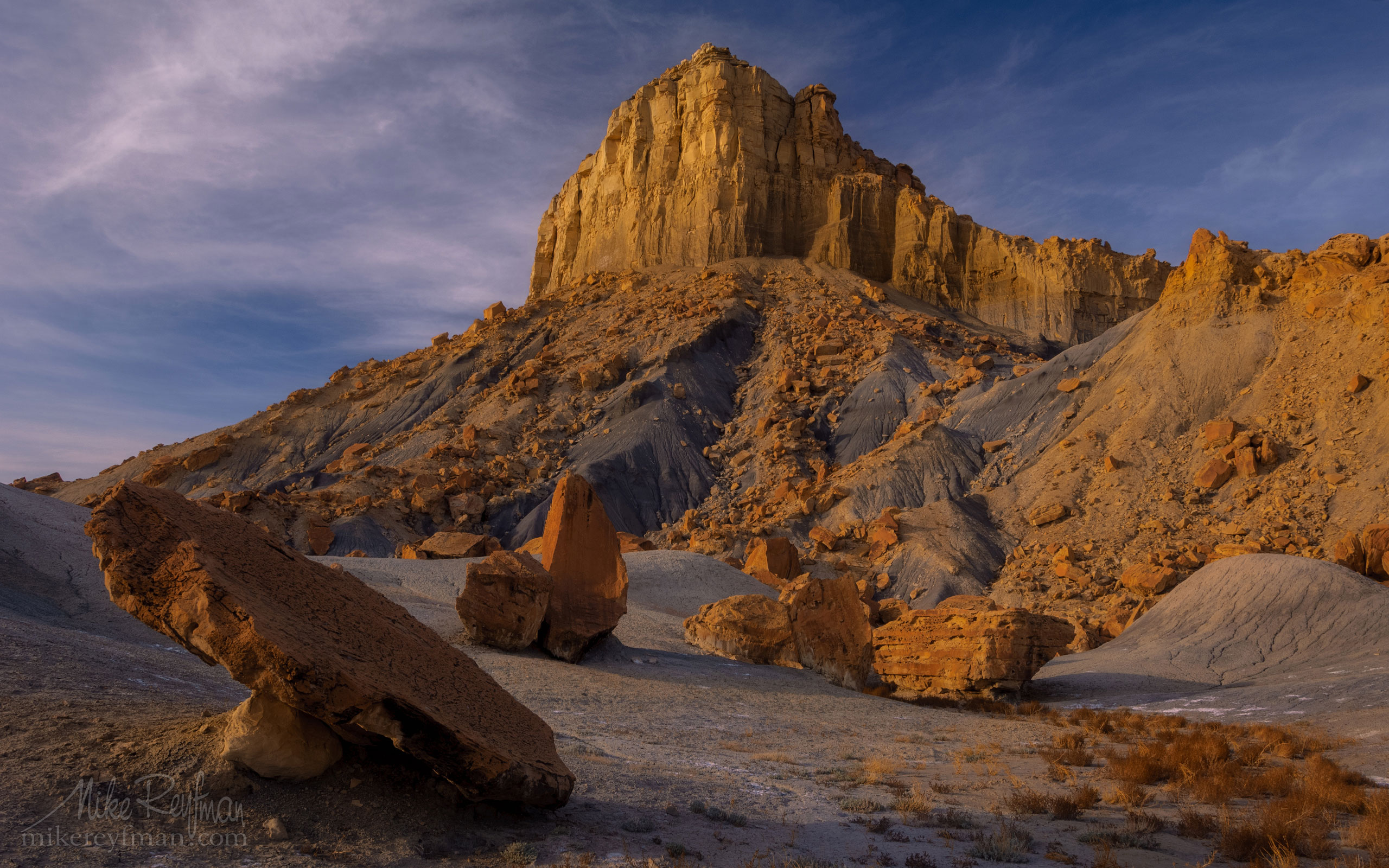 Nipple Bench at Staircase-Escalante Nat Monument from Smoky Mountain Road near Lake Powell, Glen Canyon Area, Utah, USA. 124-LP3_MER1050.jpg - Lake Powell, Glen Canyon NAR. Colorado and Sun Juan Rivers. Utah/Arizona, USA  - Mike Reyfman Photography