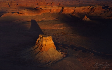 Tower-Butte.-Glen-Canyon-NRA.-Uta/Arizona,-USA.