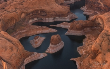 Lake Powell, Glen Canyon NAR. Colorado and Sun Juan Rivers. Utah/Arizona, USA  - Landscape, Nature and Cityscape Photography - Mike Reyfman Photography - Fine Art Prints, Stock Images, Nature Abstracts