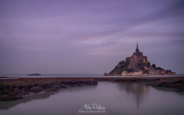 Le-Mont-Saint-Michel-Island-and-Benedictine-Abbey.-Normandy,-France