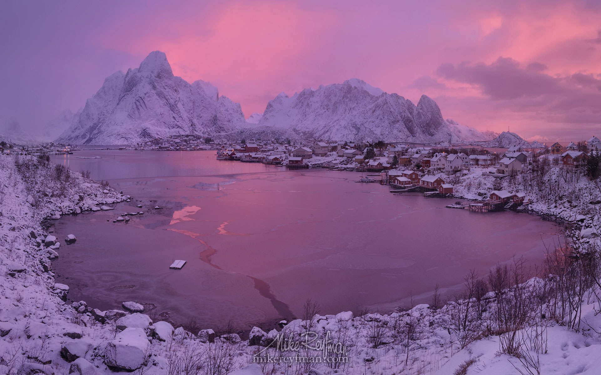 lofoten archipelago in winter arctic norway mike reyfman. Black Bedroom Furniture Sets. Home Design Ideas