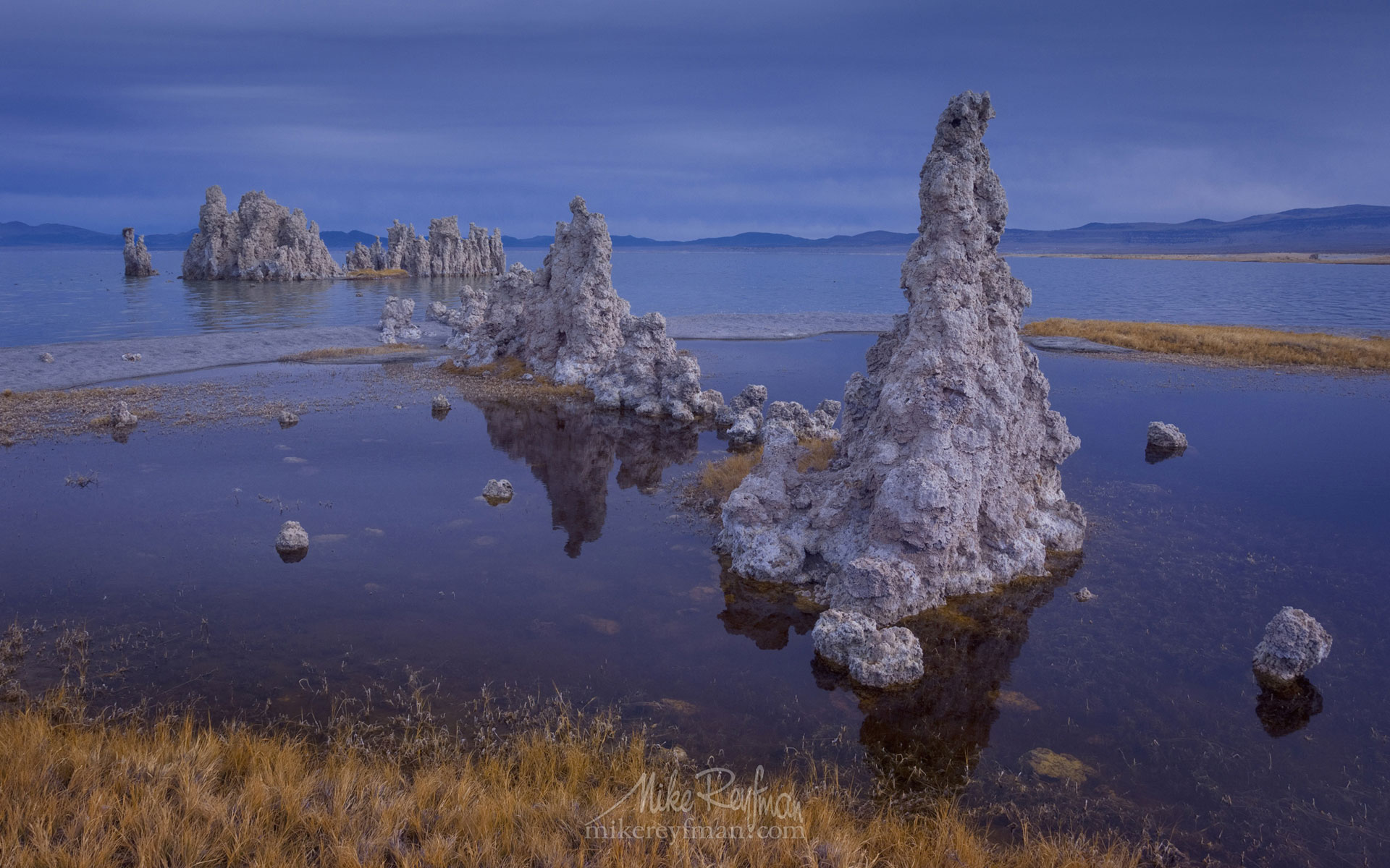 Mono Lake, Tufa State Natural Reserve, Eastern Sierra, California, USA ML1-MRMRO2578 - Mono Lake Tufa State Natural Reserve, Eastern Sierra, California - Mike Reyfman Photography