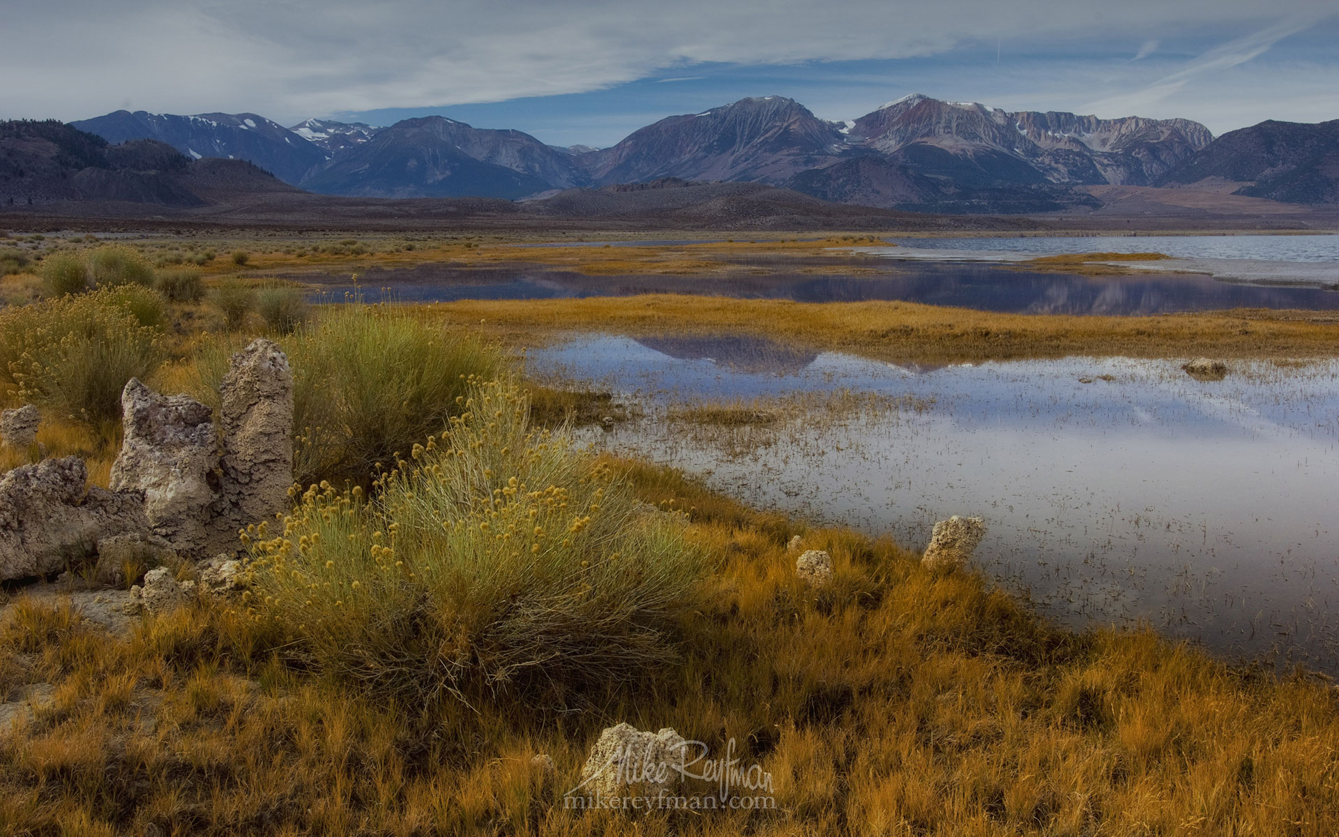 Mono Lake, Tufa State Natural Reserve, Eastern Sierra, California, USA ML1-MRMRO2580 - Mono Lake Tufa State Natural Reserve, Eastern Sierra, California - Mike Reyfman Photography