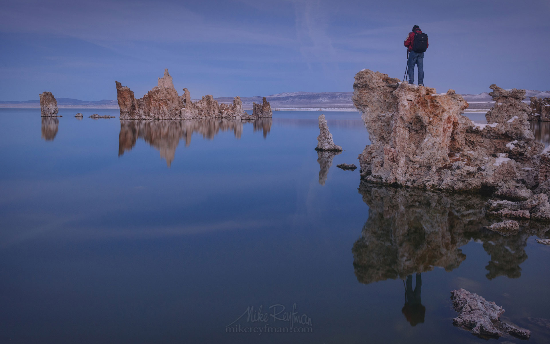 Mono Lake, Tufa State Natural Reserve, Eastern Sierra, California, USA ML1-MRN3X0685 - Mono Lake Tufa State Natural Reserve, Eastern Sierra, California - Mike Reyfman Photography