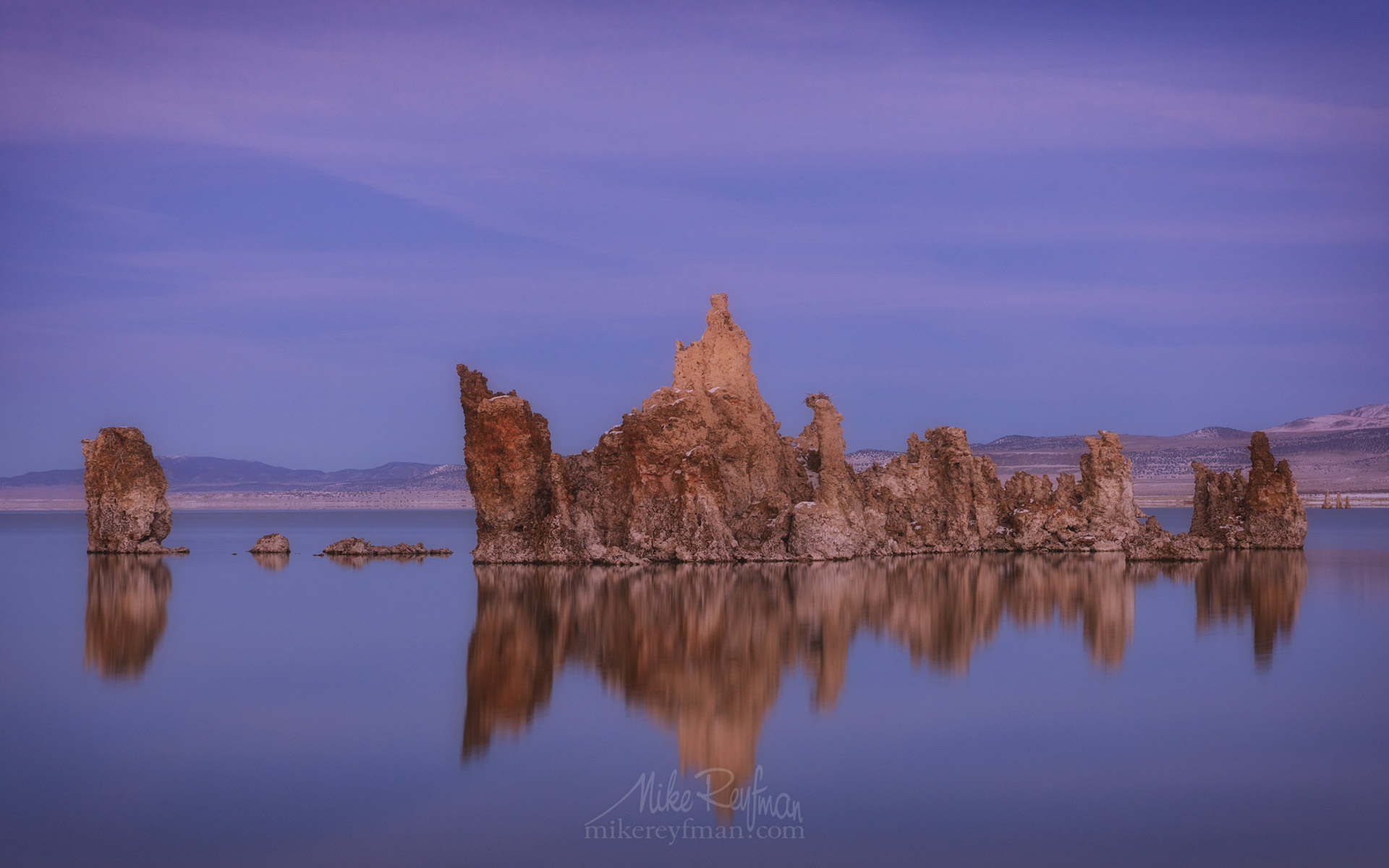 Mono Lake, Tufa State Natural Reserve, Eastern Sierra, California, USA ML1-MRN3X0686 - Mono Lake Tufa State Natural Reserve, Eastern Sierra, California - Mike Reyfman Photography