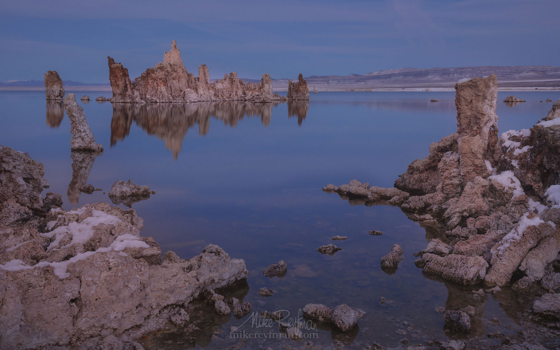 Mono Lake, Tufa State Natural Reserve, Eastern Sierra, California, USA ML1-MRN3X0688 - Mono Lake Tufa State Natural Reserve, Eastern Sierra, California - Mike Reyfman Photography