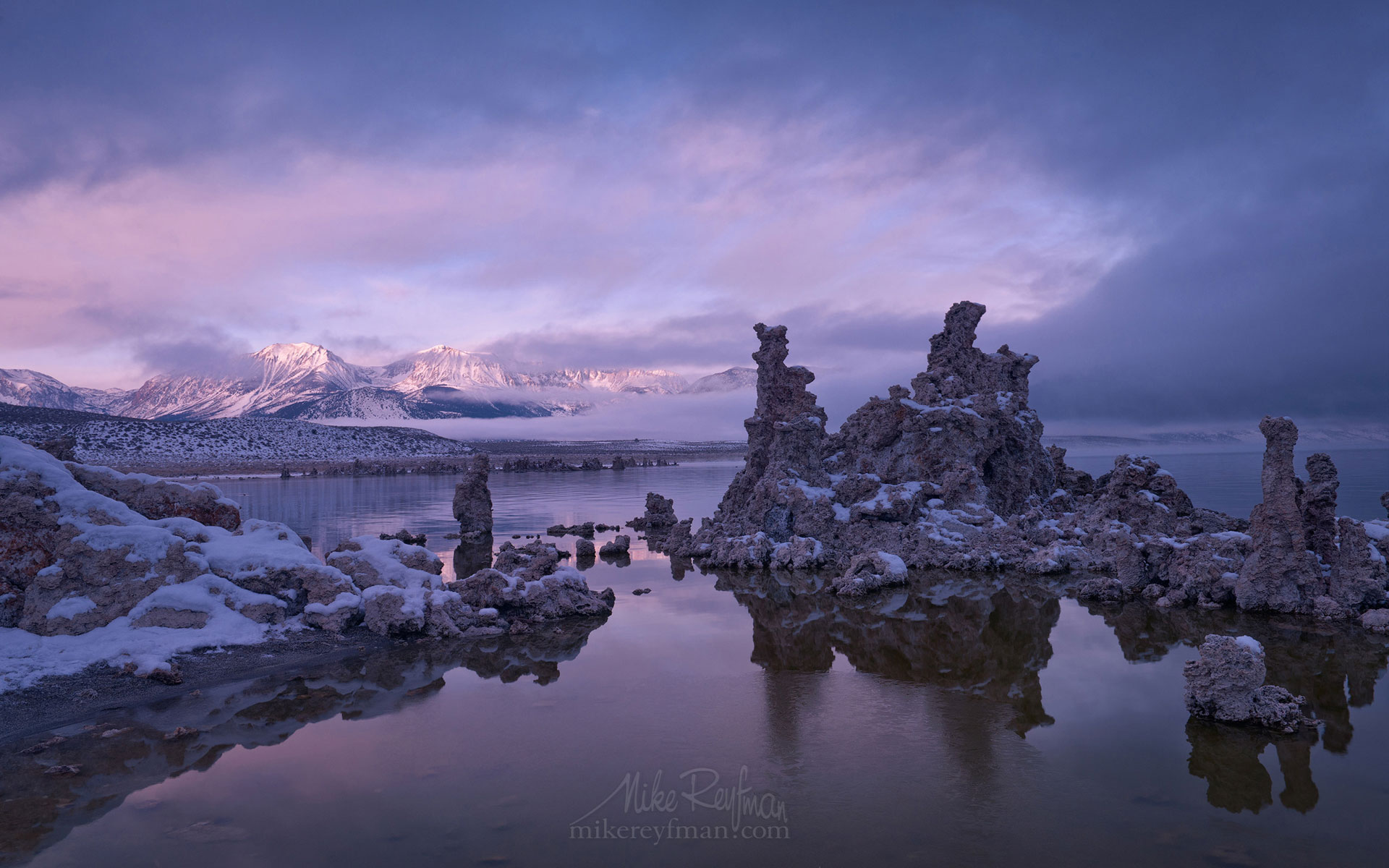 Mono Lake, Tufa State Natural Reserve, Eastern Sierra, California, USA ML1-MRN3X0737 - Mono Lake Tufa State Natural Reserve, Eastern Sierra, California - Mike Reyfman Photography