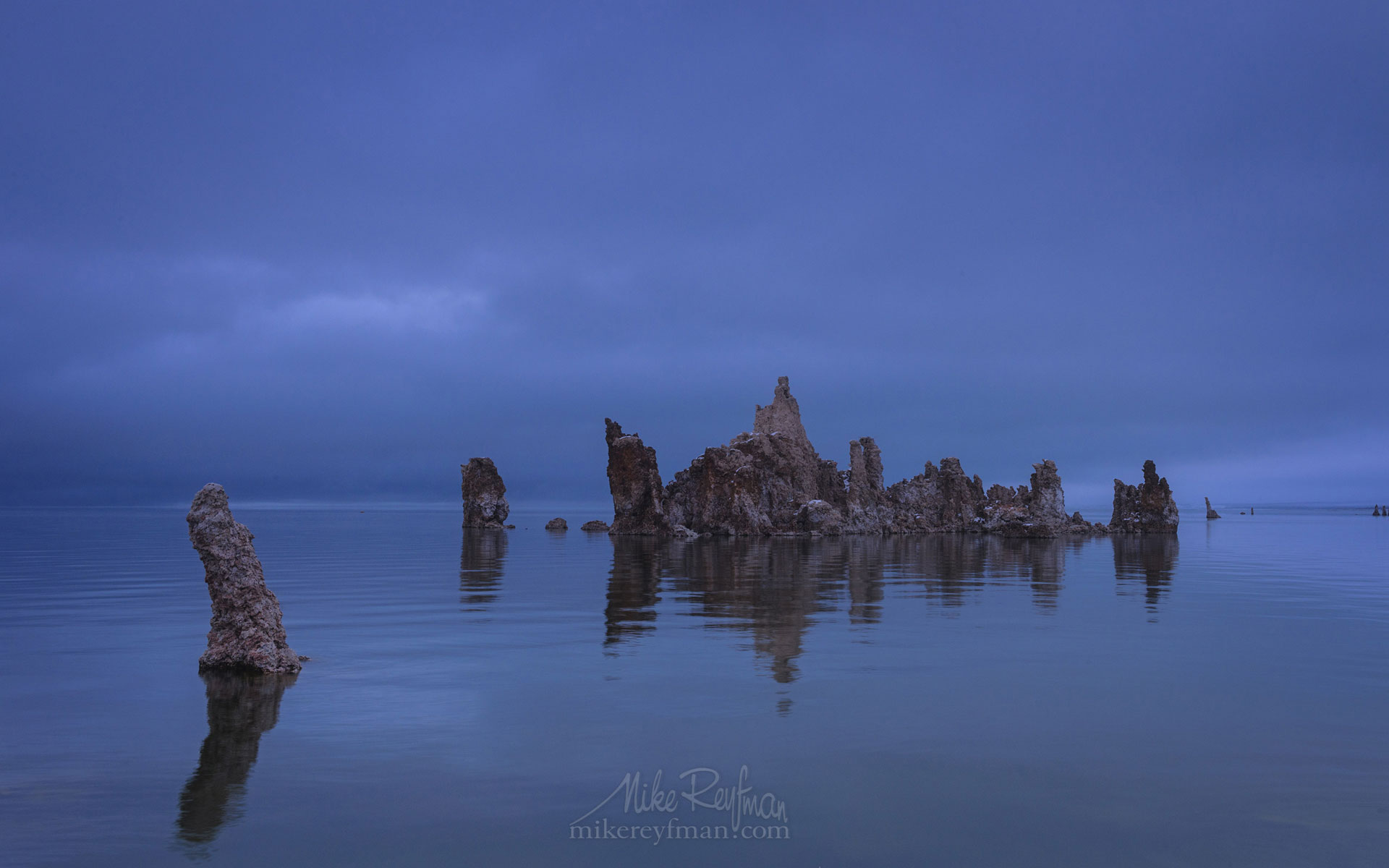 Mono Lake, Tufa State Natural Reserve, Eastern Sierra, California, USA ML1-MRN3X0741 - Mono Lake Tufa State Natural Reserve, Eastern Sierra, California - Mike Reyfman Photography