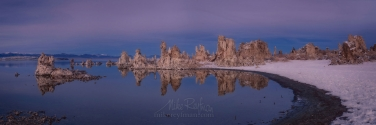 ML1-MRN3X0672-74-Pano Mono Lake, Tufa State Natural Reserve, Eastern Sierra, California, USA