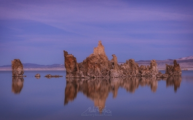 ML1-MRN3X0686 Mono Lake, Tufa State Natural Reserve, Eastern Sierra, California, USA