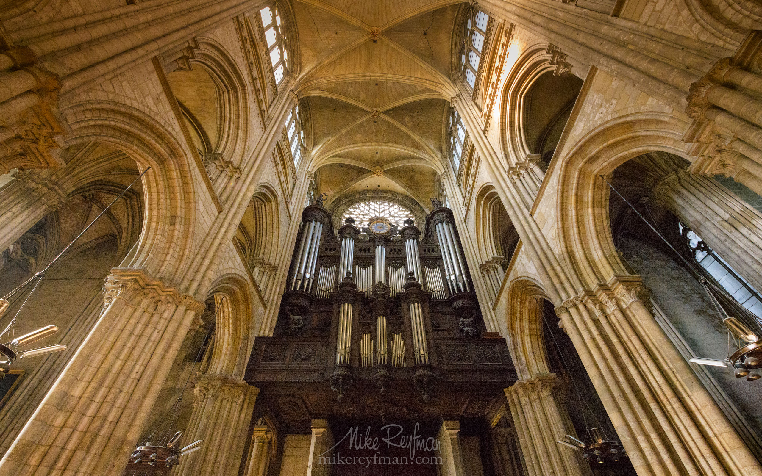 Rouen Cathedral or Cathedral of our Lady of Rouen (Cathédrale de Notre Dame de Rouen). Rouen, Normandy, France FR1-MR50A0472 - Symmetries and Beyond. Random photos. France. - Mike Reyfman Photography
