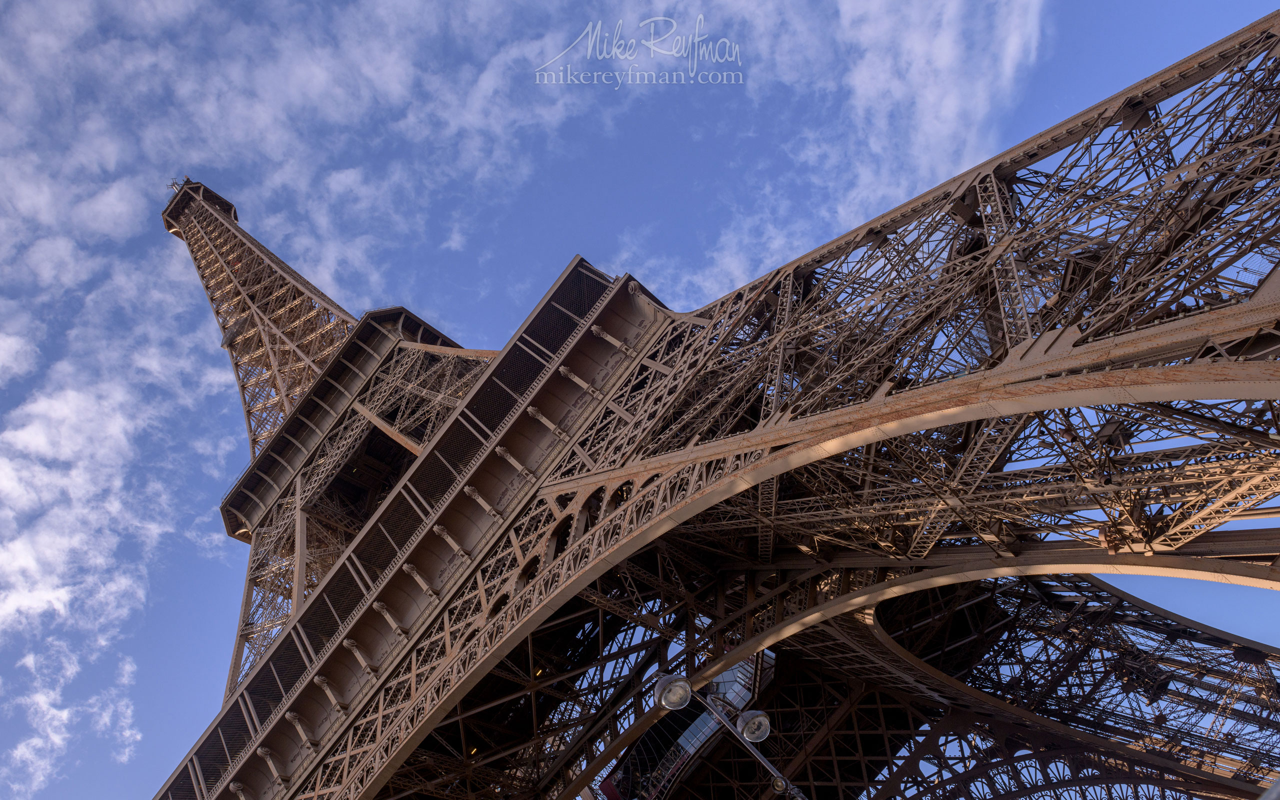 The Eiffel Tower  Champ de Mars, Paris, France FR1-MR50A1714