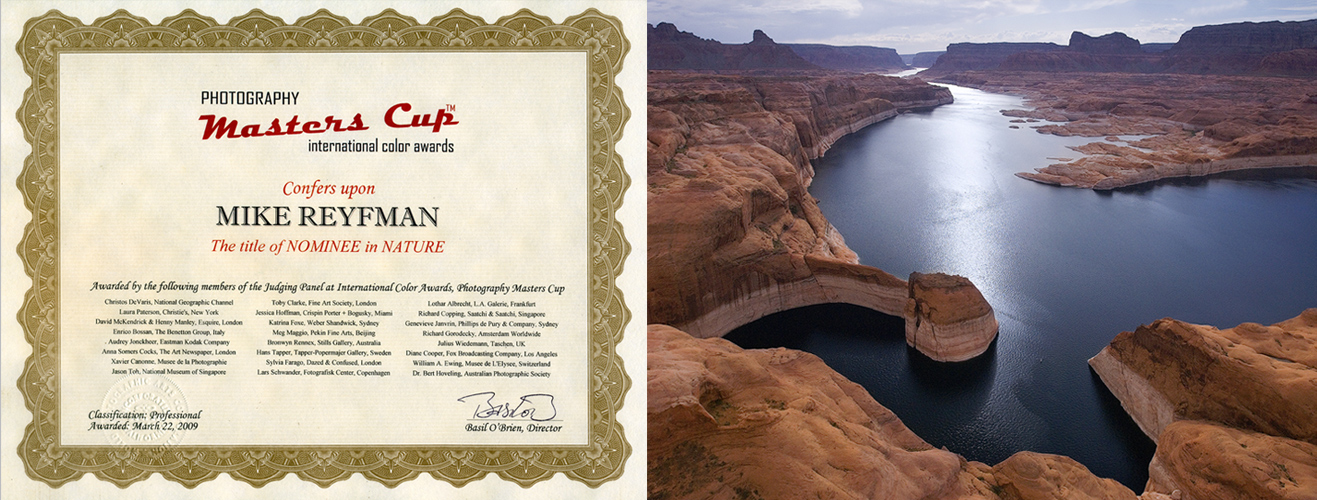 2009-MastersCup-Certificate-Lake-Powell